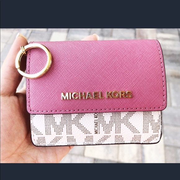 abc5b24cb2fe2f Michael Kors Bags | Gabys Card Holder Key Ring | Poshmark